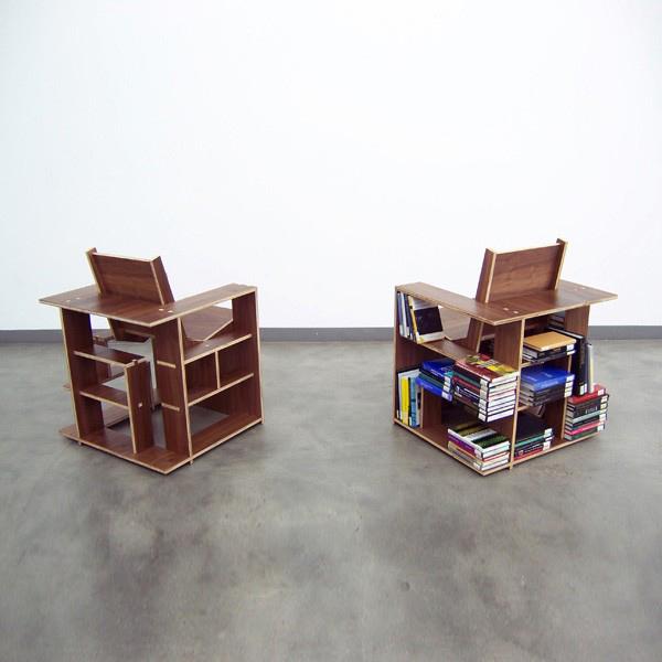 Borden bookcase chair