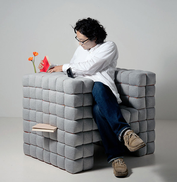 Lost in sofa prototype (retail version available here)