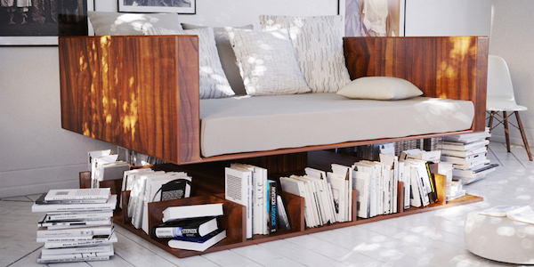 Ransa sofa by Younes Duret
