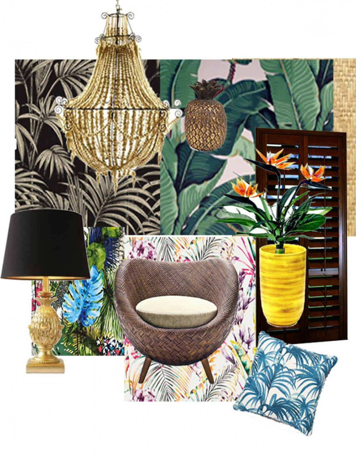 STYLE U2013 TROPICAL CHIC