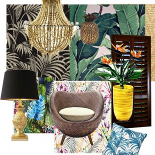 STYLE – TROPICAL CHIC