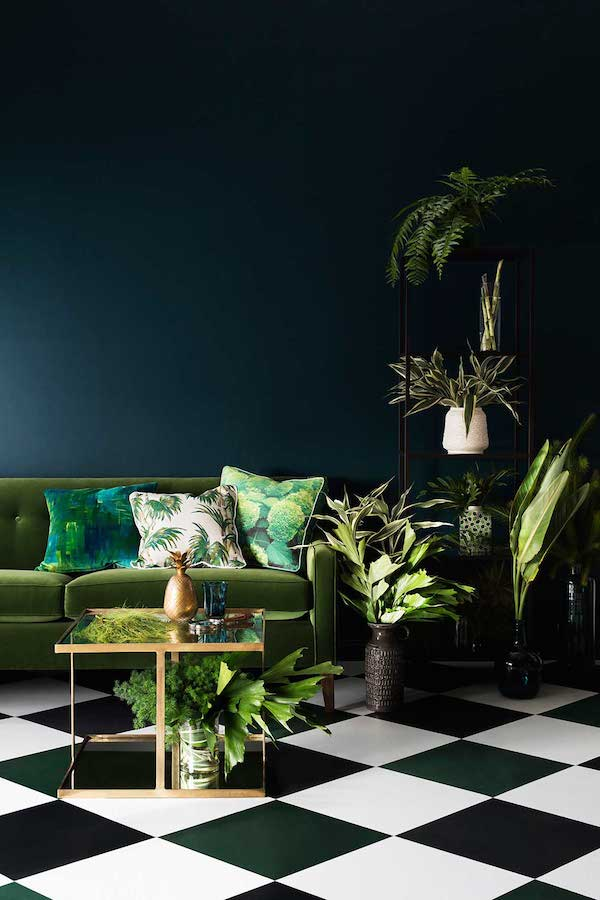 Rhythmic palms colour scheme